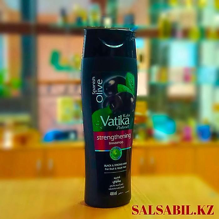 Шампунь Vatika spanish olive с черной оливой